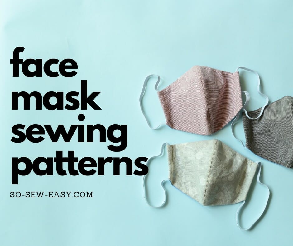 Face mask Plastic Sewing Template Fitted Pattern Filter Pocket Small Medium Large for Production Sewing templates Made in USA