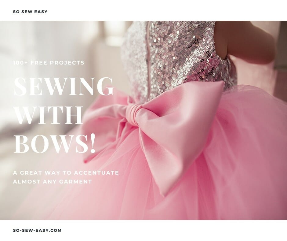 sewing with bows