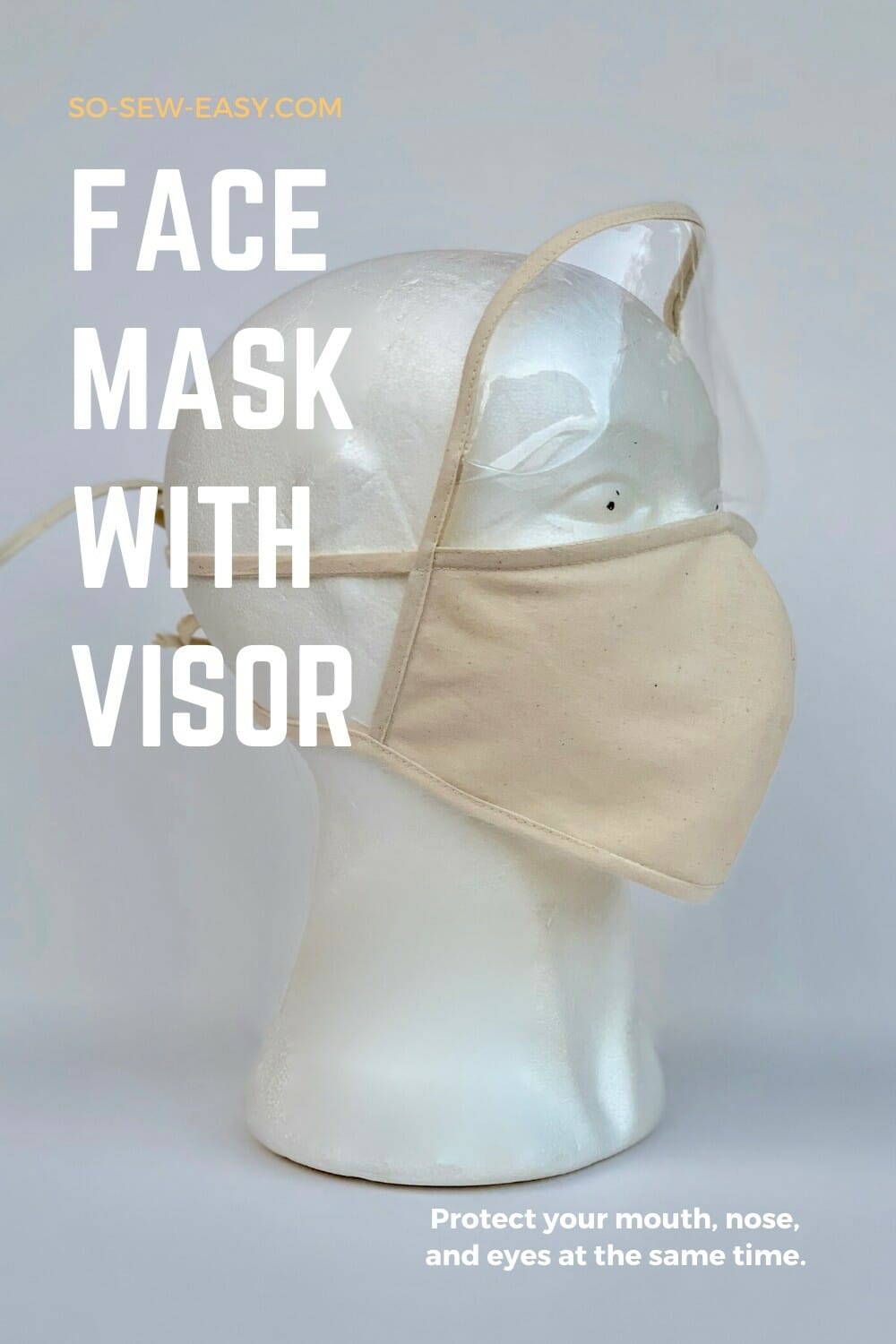 Face Mask With Visor