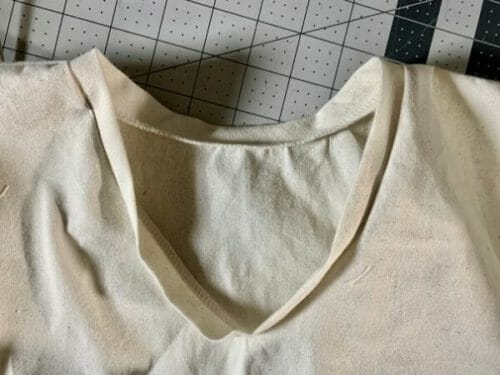 Easy surgical scrub top pattern