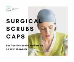 surgical scrubs caps