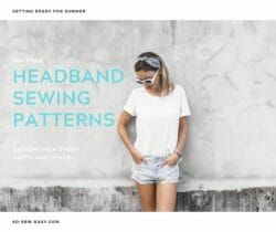 headband sewing patterns