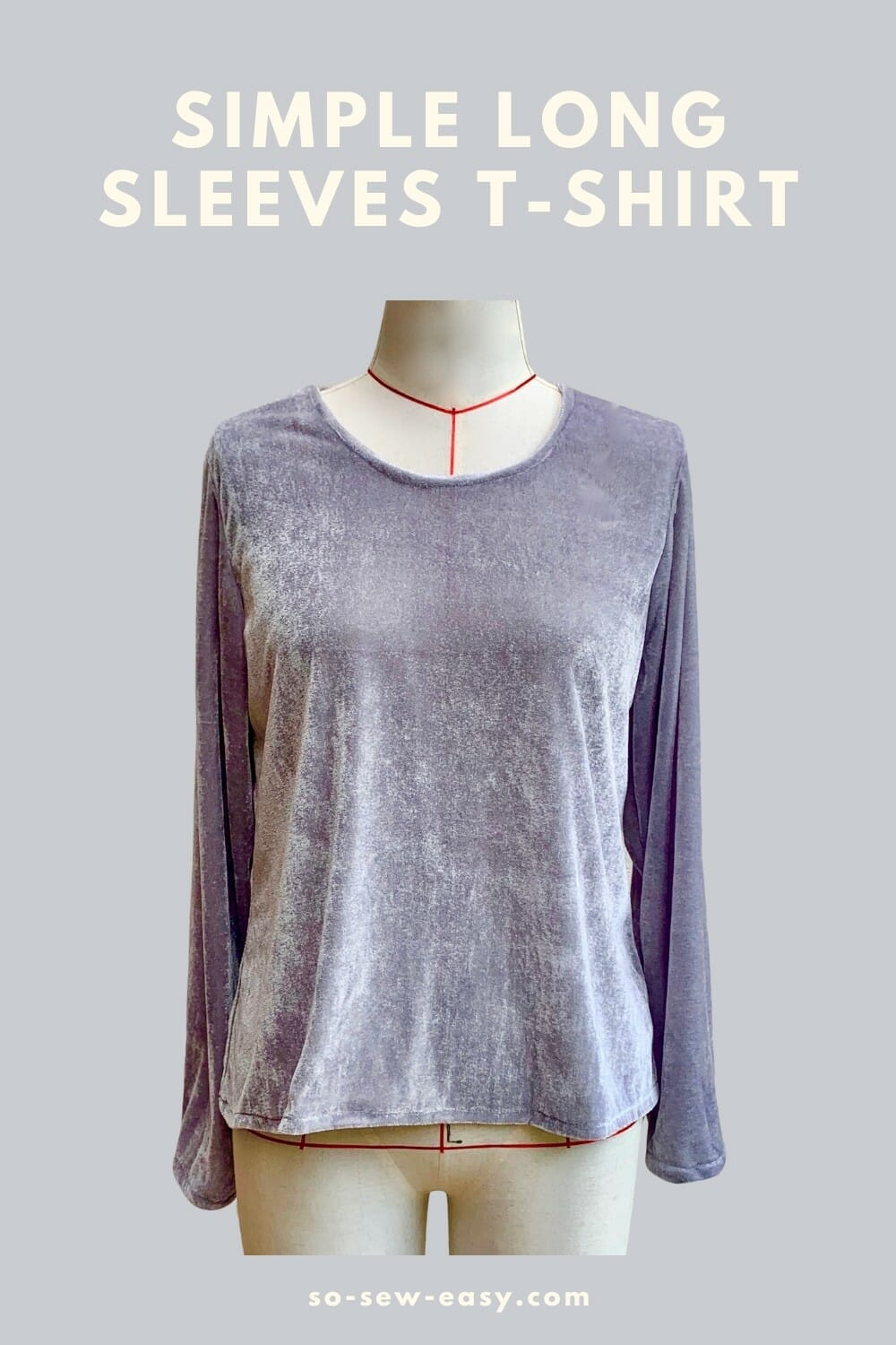 simple long sleeves t-shirt