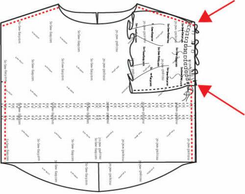 3/4 sleeve summer blouse