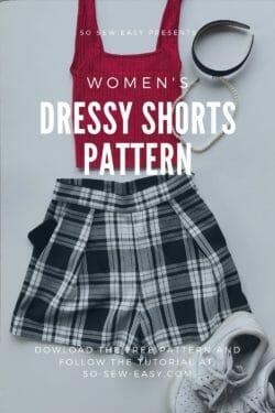 womens dressy shorts pattern