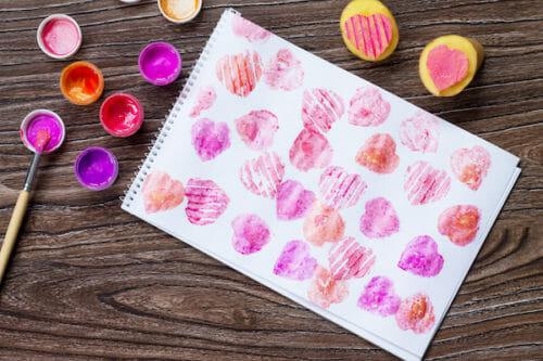Sellos de tela para imprimir sus propios textiles