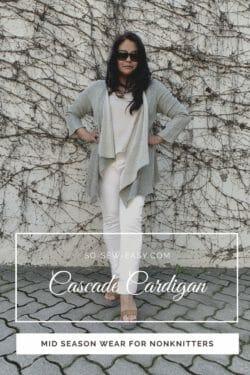 Cascade cardigan pattern