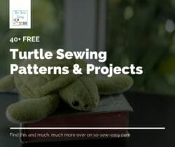 turtle sewing patterns