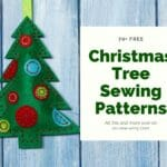 christmas tree sewing patterns