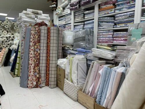 fabric hunting Segovia