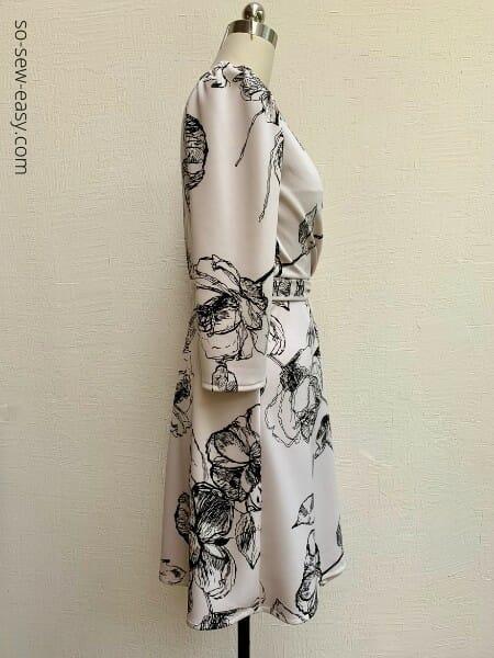 easy wrap dress pattern