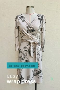 easy wrap dress pattern