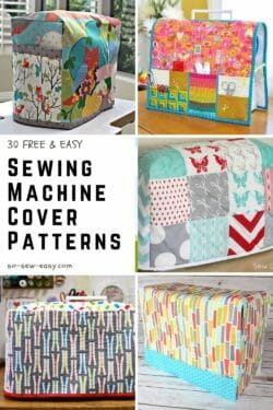 sewing machine cover patterns