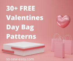 valentines day bag patterns