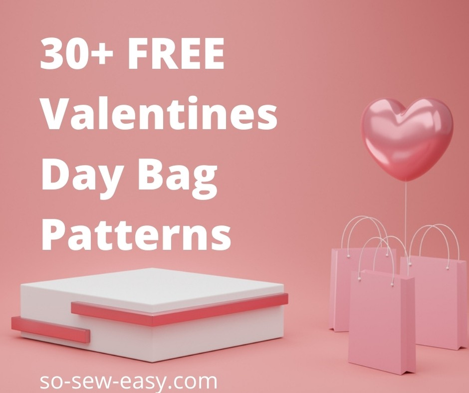 valentines day bag patterns