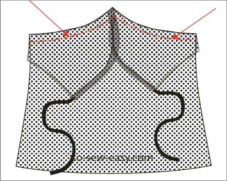 spaghetti strap top pattern