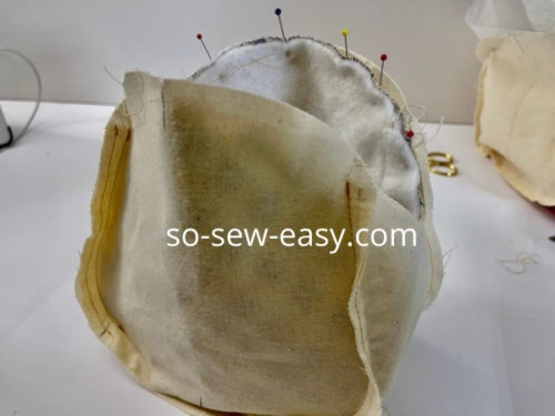 Metal Frame Embroidered Bag