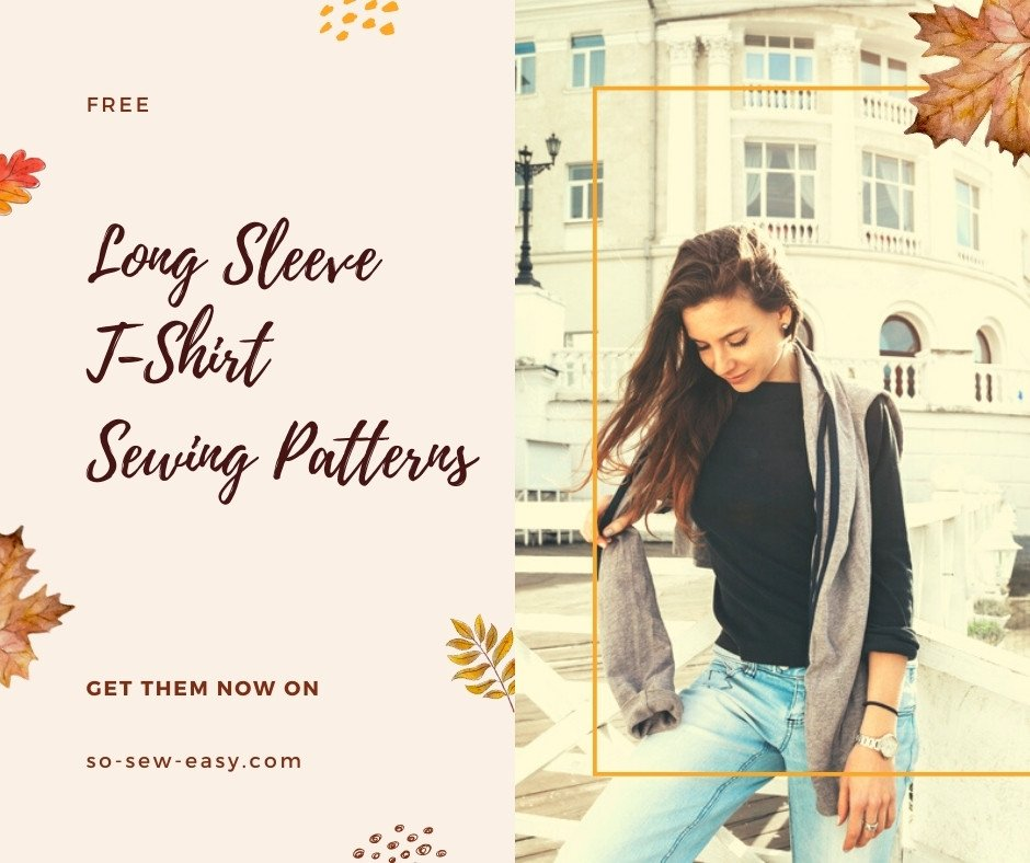 Long Sleeve T-Shirt Sewing Patterns