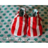 simple baby shoe pattern free