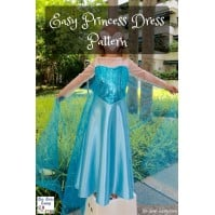 f09855ce3f18 Easy Princess Dress Pattern  Have you seen Frozen