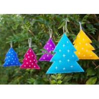 Felt Christmas Decorations To Make Free Patterns.100 Free Christmas Ornament Sewing Patterns So Sew Easy