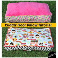 20+ Free Floor Pillow Patterns - So Sew Easy